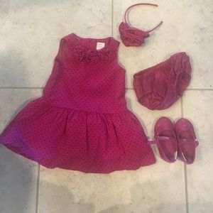 Adorable outfit for baby's festive event!